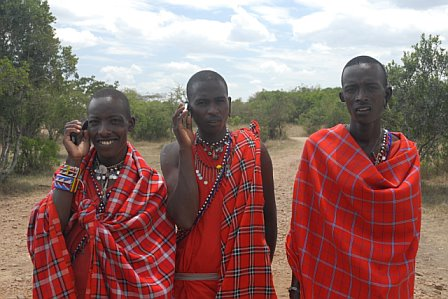 AMB Three Masai on Cell.jpg
